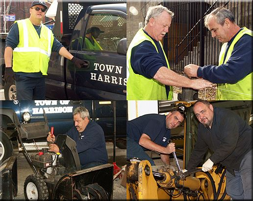 Collage of Public Works Employees