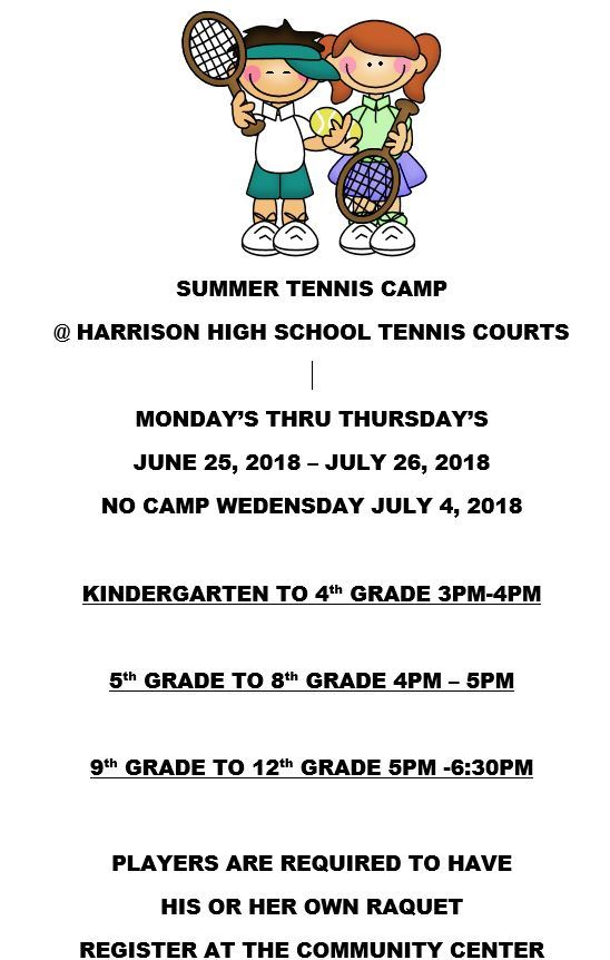 Summer Tennis Camp
